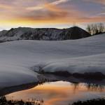 Winter Lake Matt Inden Photography
